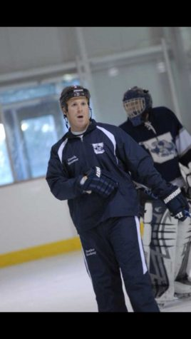 Coach Huesser Leads Urbana Ice Hockey