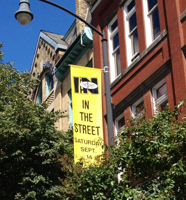 A+sign+advertises+Frederick%27s+In+the+Street+Festival.+