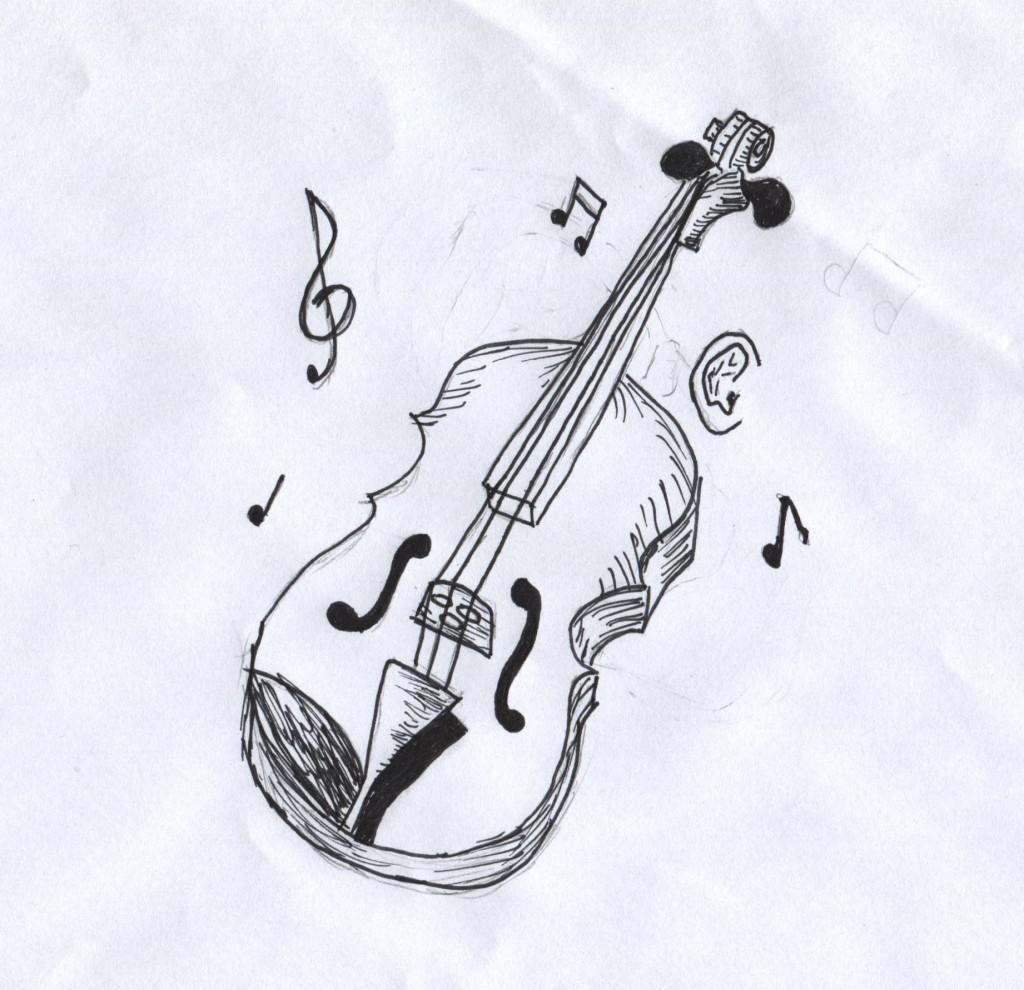 Lessons on the violin, guitar, and piano are offered through the music mentoring program Music to My Ears (Frederick Chapter).