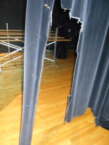 New Curtains for the Auditorium