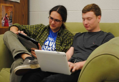 Students and teachers are now able to access the schools own Wi-Fi system through their own devices.