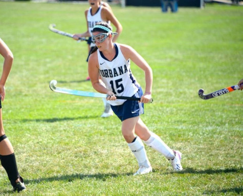 Senior, Courtney Mellon has been playing field hockey for four years and plans on continuing in college.