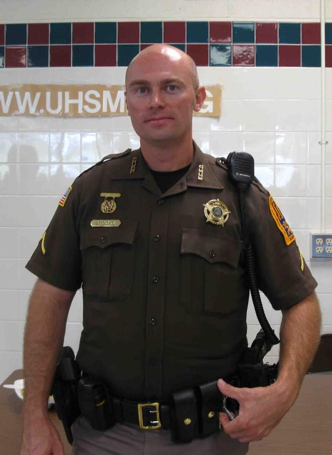 Deputy Stocks shares safety tips for students.