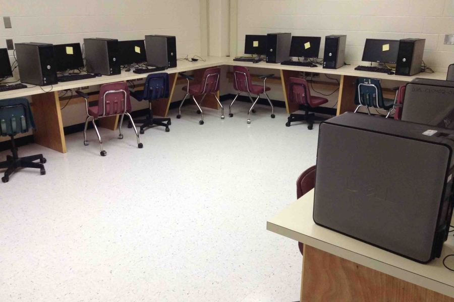 The new computer lab will be opened in 2015.