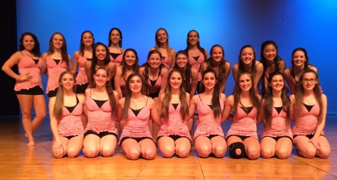 The Dance Company in their outfits for the Tiny Dancer Routine.