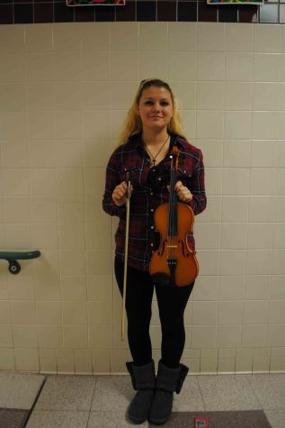 Featured Musician: Violinist Rachel Thomas
