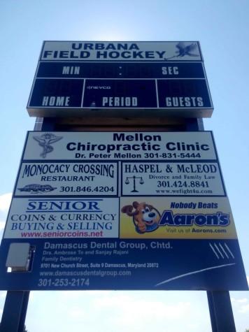 9-17 Fockey Sponsers Board