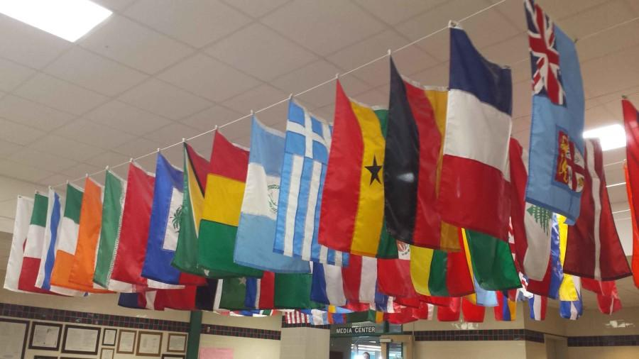 9-18 Stairwell Flags