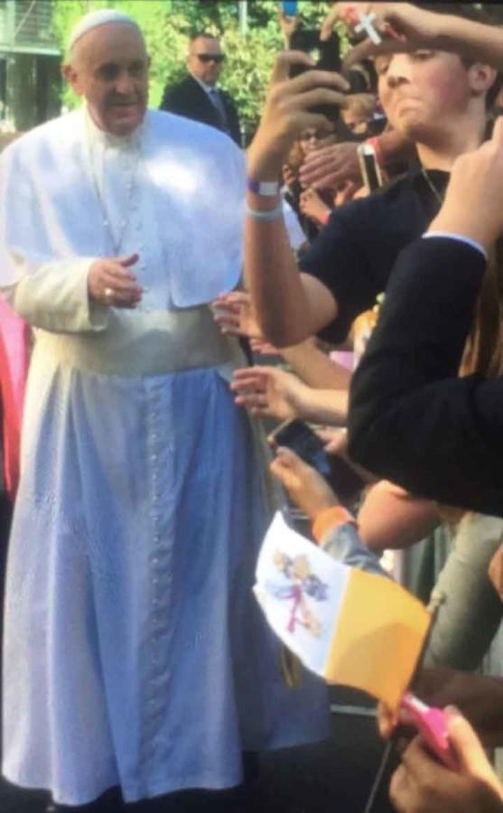 9-24 Pope Visit Selfie 2