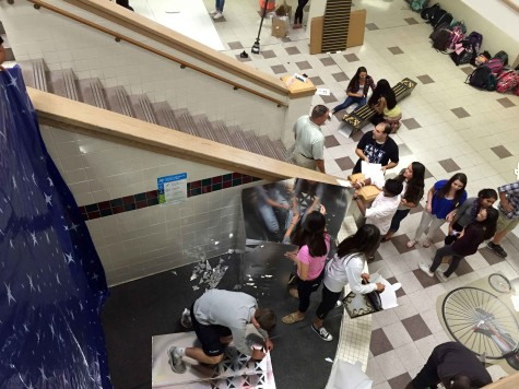 Homecoming Prep Main Stairs