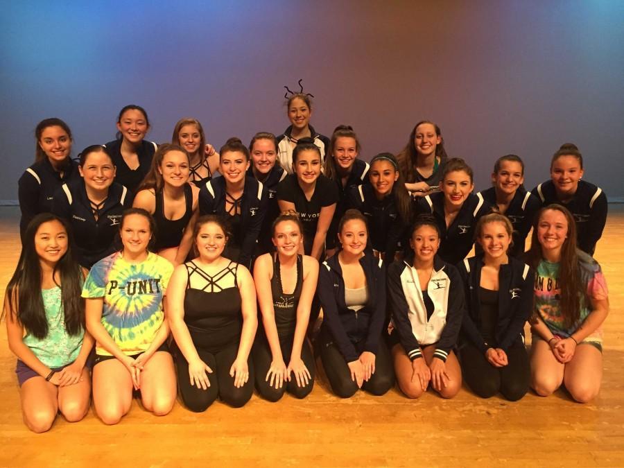 The 2015-2016 Urbana Dance Company at morning practice.