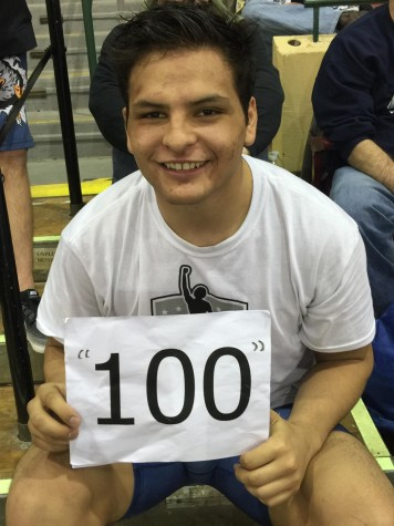 Andres Silva earned his 100th win of his high school career.
