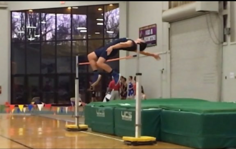 Mitch Holson Breaks the UHS High Jump Record