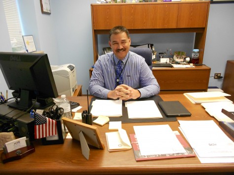 Mr. Michael Chavez takes over as principal of UHS after the retirement of Mr. Jay Berno.
