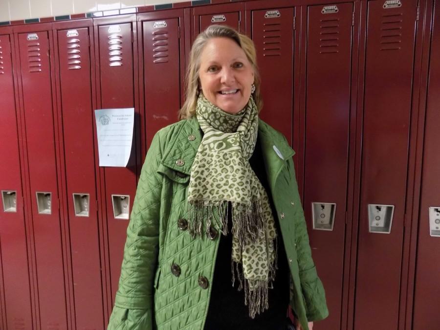 New Acting Assistant Principal Helen Golibart fulfills responsibilities.