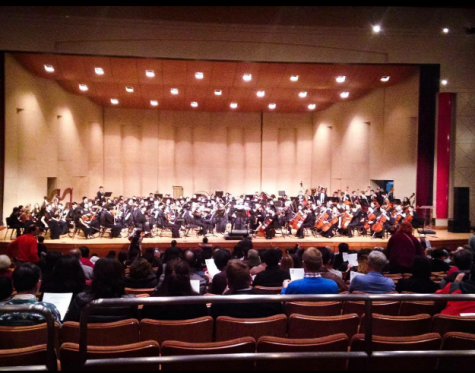 Students represent UHS at All-States Orchestra performance at Baltimore Convention Center .