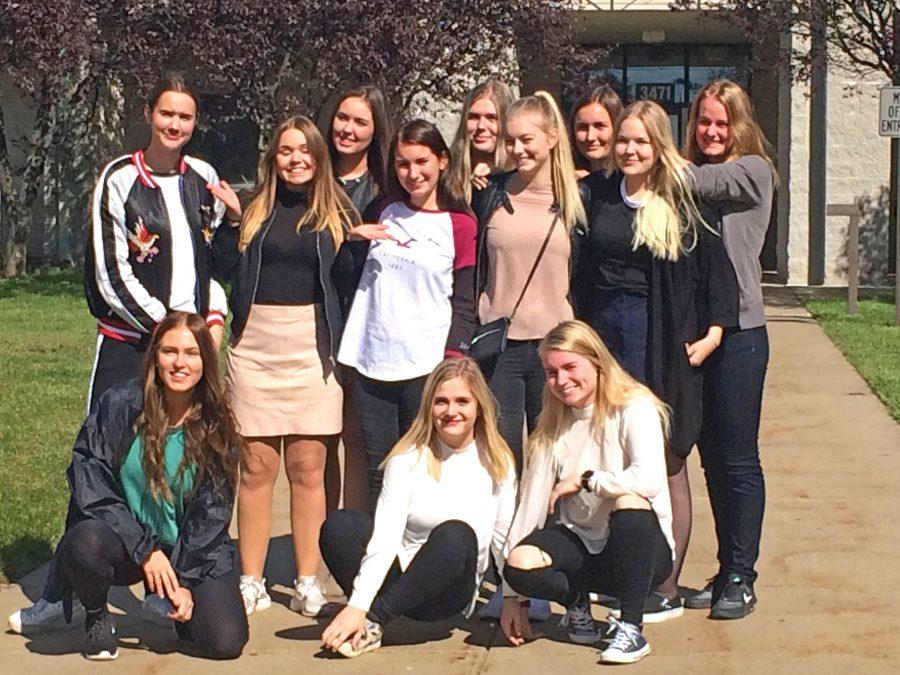 UHS Proudly Hosts Danish Students