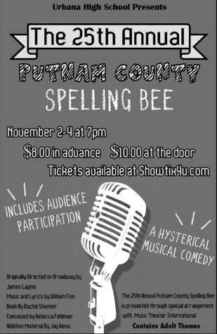 "Come out to the ""Spelling Bee"" tonight"