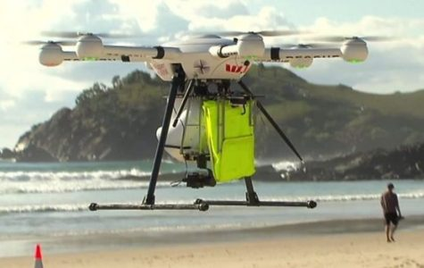 Drones At The Beach