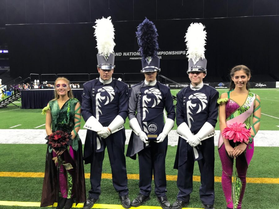 The Marching Band Plays Their Heart Out in Indianapolis!