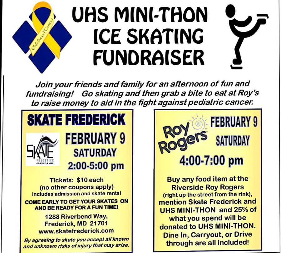 UHS Mini-Thon Ice Skating Fundraiser