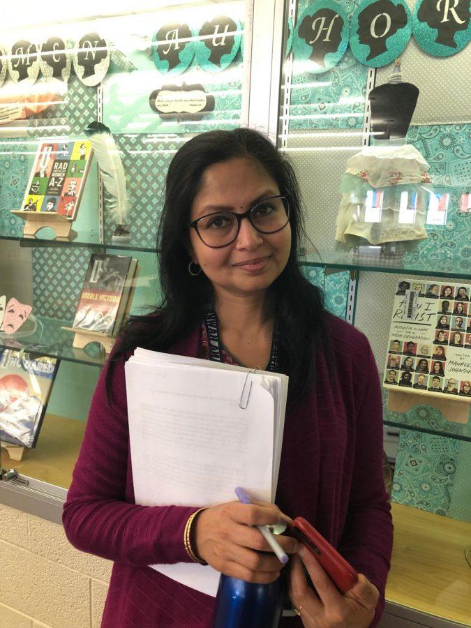Spotlight: Mrs. Santharam