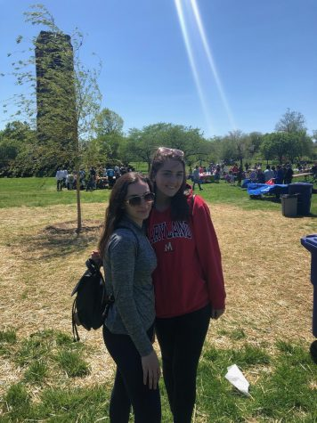 UHS Students Teach Kids About Recycling in Baker Park – Photo of the Day 4/27/19