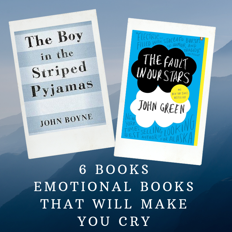 6 Emotional Books That Will Make You Cry