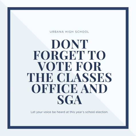 Your chance to vote for our student government