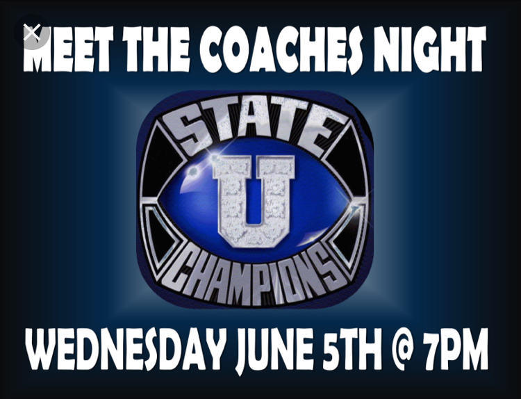 Photo of the Day 6/5- Meet the Coaches Night