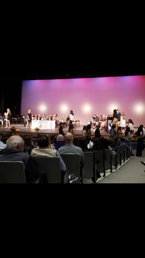 Combined Honor Society Induction Ceremony Recognizes Exemplary Achievement