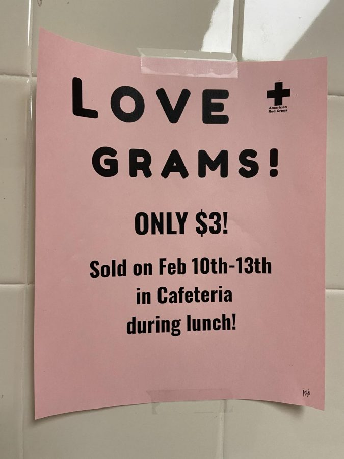 Urbana High School Celebrates Valentine's Day with Love Grams: Photo of the Day 2/10/20