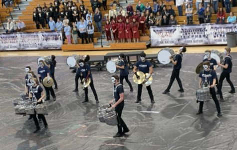 Indoor Percussion Show: Photo of the Day 2/25/2020