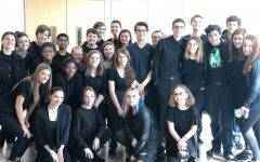 UHS Drama Attended FCPS' Revival of Drama Adjudication Yesterday: Photo of the Day 3/6/2020