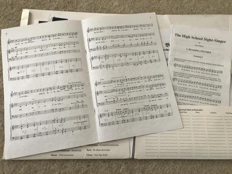 Image of sheet music