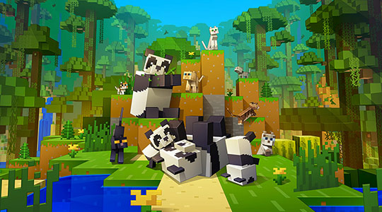 Minecraft Exuberance: One of Gen Z's favorite games by  Mojang!